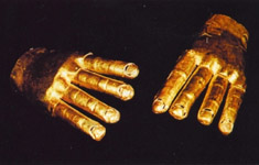 gants en or mythe d'Eldorado