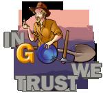logo site web chercheur d'or